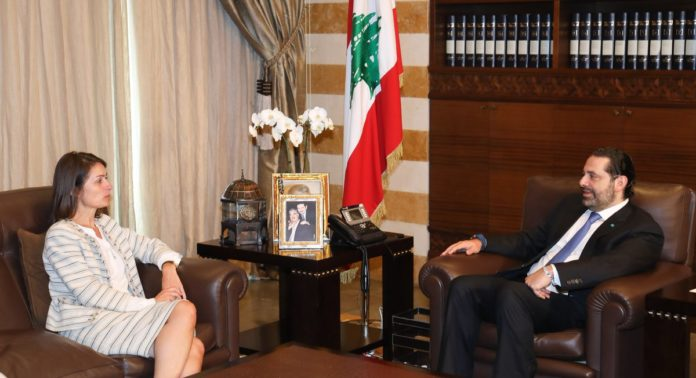 Creative Lebanon Center, Saad Hariri , Christina Lassen,