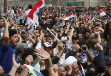 power cuts, iraq, protests,