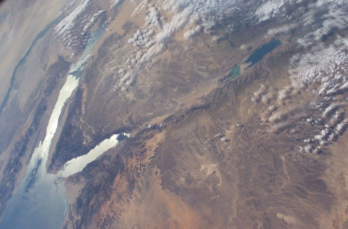 jordan river nasa space