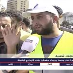 mtv lebanon beirut protest