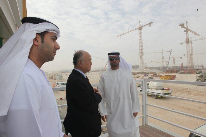 UAE nuclear power plant Barakah