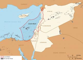 lebanon oil gas