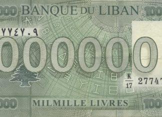 1000 Lebanese Pounds