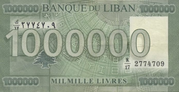 1000 Lebanese Pounds